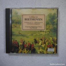 CDs de Música: ORQUESTA FILÁRMONICA CHECA. PAUL KLETZKI - BEETHOVEN SINFONÍA N.º 3. OBERTURAS DE CORIOLANO Y EGMONG. Lote 155703818