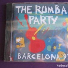 CDs de Música: THE RUMBA PARTY BARCELONA 92 CD PRECINTADO 1992 - LOS AMAYA - PERET - LOS MANOLOS - RUMBAS CATALANA. Lote 155706470