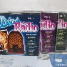 CDs de Música: TRIPLE CD DIAS DE RADIO VOL 1,2,3 ANTONIO MACHIN PEPE PINTO,JOSELITO ,ETC. Lote 155707098