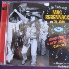 CDs de Música: MAC REBENNACK - DR JOHN CD SOUL JAM 2017 - GOOD TIMES IN NEW ORLEANS - ROCK N ROLL - BLUES - SOUL . Lote 155708190