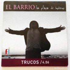 CDs de Música: EL BARRIO 'TRUCOS' CD SINGLE PROMO 2005 LAS PLAYAS DE INVIERNO. Lote 155711466