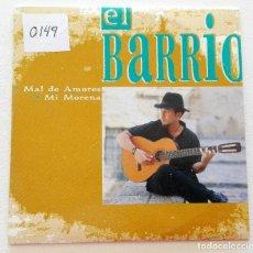 CDs de Música: EL BARRIO 'MAL DE AMORES / MI MORENA' CD SINGLE PROMO 1999. Lote 155712074
