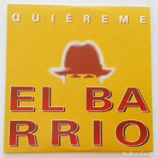 CDs de Música: EL BARRIO 'QUIÉREME' CD SINGLE PROMO 2004 ÁNGEL MALHERIDO. Lote 155712174