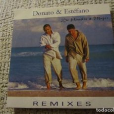 CDs de Música: DONATO &ESTEFANO- MAXI-CD- TITULO DE HOMBRE A MUJER-6 TEMAS-DEL 99- NUEVO . Lote 155715730