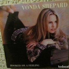CDs de Música: VONDA SHEPARD- MAXI-CD- TITULO HOOKED ON A FEELING- 2 TEMAS-DEL 88-PLASTIFICADO. Lote 155715854