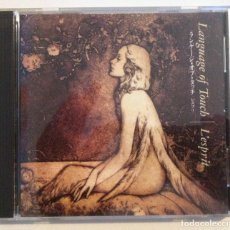 CDs de Música: L´ESPRIT - LANGUAGE OF TOUCH - CD JAPONES - ELECTRONIC AMBIENT. Lote 155726226
