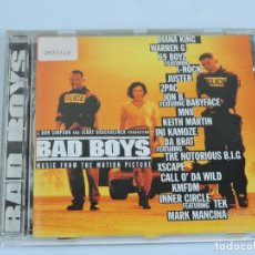 CDs de Música: BAD BOYS - MUSIC FROM THE MOTION PICTURE CD. Lote 155750438