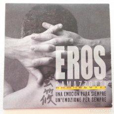 CDs de Música: EROS RAMAZZOTTI 'UNA EMOCIÓN PARA SIEMPRE' CD SINGLE PROMO 2003 9. Lote 210964399