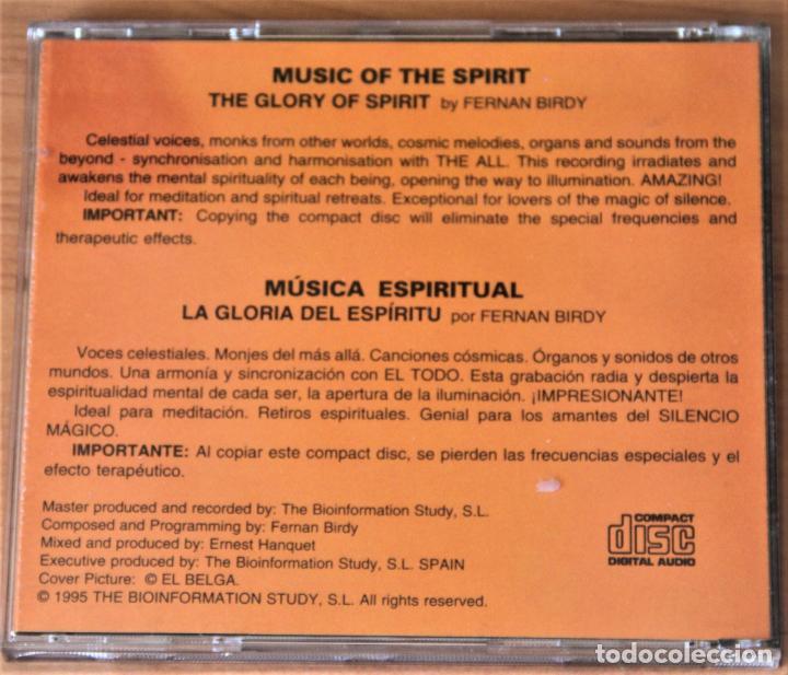 CDs de Música: BIOINFORMATION STUDY. LA GLORIA DEL ESPIRITU. FERDINAN BIRDY. CD - Foto 2 - 155758910