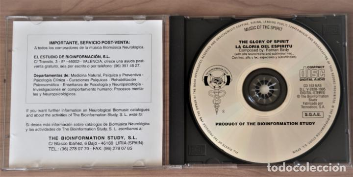 CDs de Música: BIOINFORMATION STUDY. LA GLORIA DEL ESPIRITU. FERDINAN BIRDY. CD - Foto 4 - 155758910