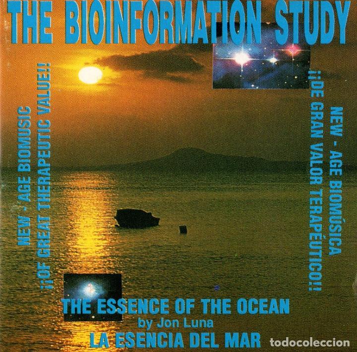 BIOINFORMATION STUDY. LA ESENCIA DEL OCEANO. JON LUNA. CD (Música - CD's New age)