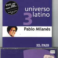 CDs de Musique: PABLO MILANES - UNIVERSO LATINO VOL. 3 (CD, EUROTROPICAL MUXXIC 2001). Lote 155759846
