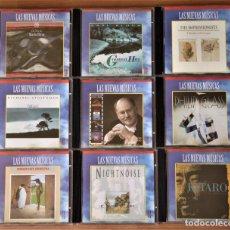 CDs de Música: LOTE 9 CD'S. NUEVAS MÚSICAS. VARIOS AUTORES. VER DESCRIPCIÓN.. Lote 155761706
