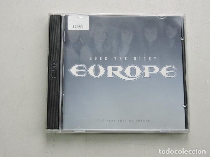 EUROPE, ROCK THE NIGHT - THE VERY BEST OF EUROPE 2XCD (Música - CD's Rock)