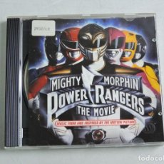 CDs de Música: POWER RANGERS MIGHTY MORPHIN THE MOVIE CD. Lote 155764974