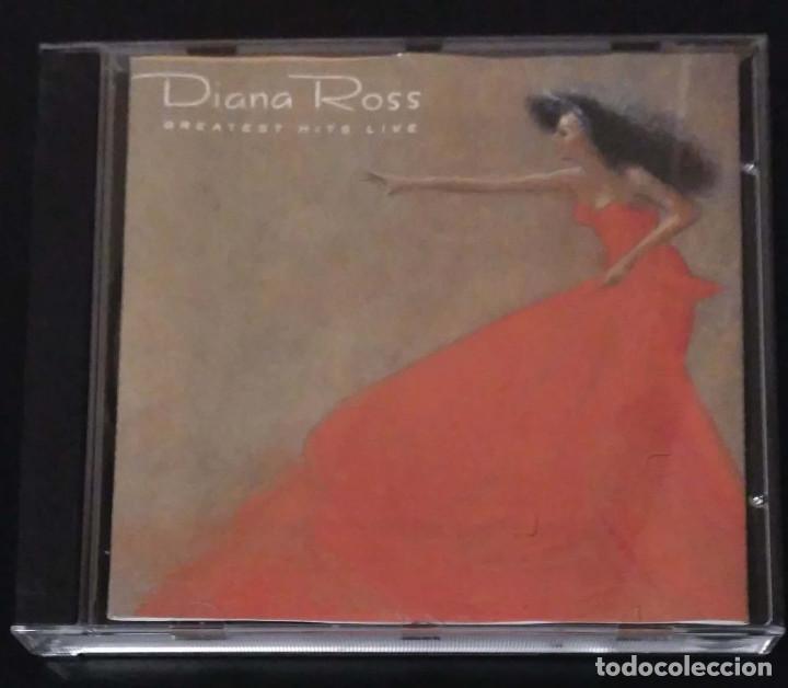 DIANA ROSS (GREATEST HITS LIVE) CD 1989 (Música - CD's Jazz, Blues, Soul y Gospel)