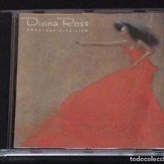 CDs de Música: DIANA ROSS (GREATEST HITS LIVE) CD 1989. Lote 155779994