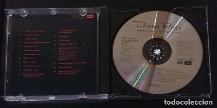 CDs de Música: DIANA ROSS (GREATEST HITS LIVE) CD 1989 - Foto 3 - 155779994