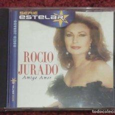 CDs de Música: ROCIO JURADO (AMIGO AMOR) CD 2000 SERIE ESTELAR. Lote 155780822