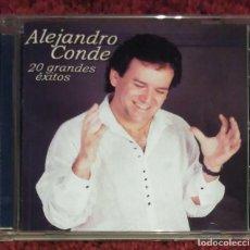 CDs de Música: ALEJANDRO CONDE (20 GRANDES EXITOS) CD 2003 FONOMUSIC. Lote 155781238