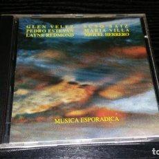 CDs de Música: CD MUSICA ESPORADICA SUSO SAINZ VELEZ ESTEVAN REDMON VILLA HERRERO. Lote 155783642