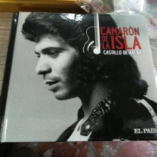CDs de Música: CAMARON DE LA ISLA CD LIBRO CASTILLO DE ARENA 2010. Lote 155785766