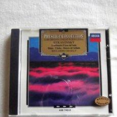 CDs de Música: STRAVINSKY EL BESO DEL HADA , 2 SUITES,HISTORIA DEL SOLDADO RICCARDO CHAIL PRESTIGE COLLECTION Nº 88. Lote 155800358