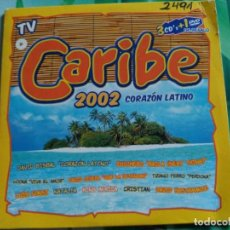 Musik-CDs - 7 TRACK PROMO CD SAMPLER CARIBE 2002 CORAZON LATINO - VALE SPAIN 2002 VG+ - 155803130