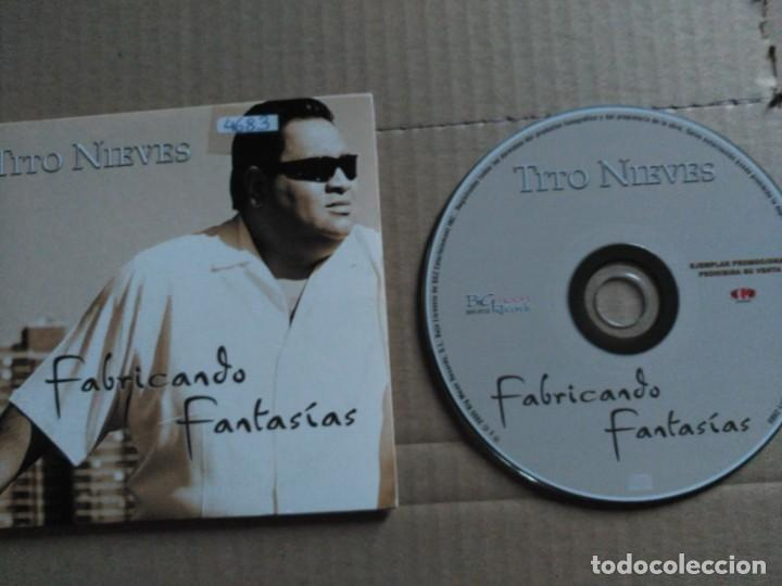 1 TRACK PROMO CD TITO NIEVES - FABRICANDO FANTASIAS - BIGMOON SPAIN 2005 VG+ (Música - CD's Latina)
