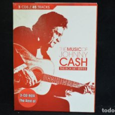 CDs de Música: THE MUSIC OF JOHNNY CASH - THE BOX SET SERIES - 3 CD. Lote 155842806