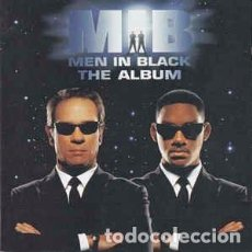 CDs de Música: VARIOUS - MEN IN BLACK - THE ALBUM (CD, ALBUM) LABEL:COLUMBIA, COLUMBIA, SONY MUSIC SOUNDTRAX, SONY. Lote 155842950
