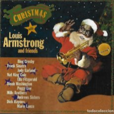 CDs de Música: LOUIS ARMSTRONG. AND FRIENDS. CHRISTMAS. CD. Lote 155848282