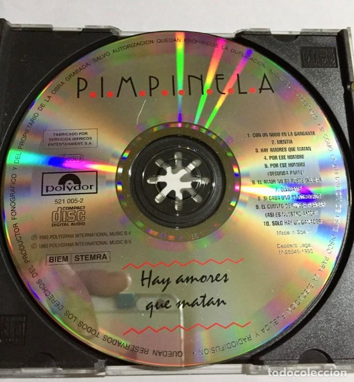 Coleccion 5 cds de pimpinela ( ver las fotos   - Sold