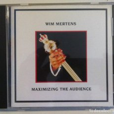 CDs de Música: WIM MERTENS MAXIMIZING THE AUDENCE - CD AUSTRIA 1988 - USURA. Lote 155851502