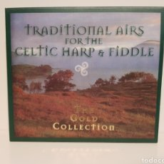CDs de Música: TRADITIONAL FOR THE CELTIC HARP & FIDDLE.(2 CD'S) THE GOLD COLLECTION.. Lote 155854877