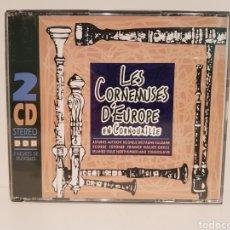 CDs de Música: LES CORNEMUSES D'EUROPE EN CORNOUAILLE.(ASTURIES, AUSTRICHE..) 2 CD'S. Lote 155855638
