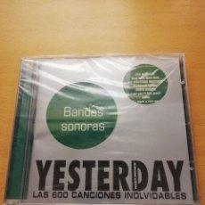 CDs de Música: YESTERDAY. LAS 600 CANCIONES INOLVIDABLES. BANDAS SONORAS (CD PRECINTADO). Lote 155864758