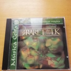 CDs de Música: RARE FOLK - GREEN (MÚSICA CELTA. SONIDOS DE UNA IDENTIDAD MÁGICA) CD. Lote 155871994