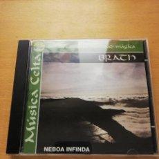 CDs de Música: BRATH - NEBOA INFINDA (MÚSICA CELTA. SONIDOS DE UNA IDENTIDAD MÁGICA) CD. Lote 155872050