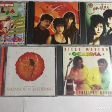 CDs de Música: 2 CAMELA ,MONSOON WEDDING, PANORAMA CON LA SALSA , OCARINA / 5 CDS ORIGINALES. . Lote 155882918