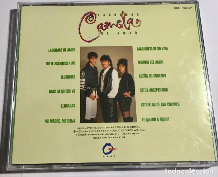 CDs de Música: 2 CAMELA ,MONSOON WEDDING, PANORAMA CON LA SALSA , OCARINA / 5 CDS ORIGINALES. - Foto 9 - 155882918