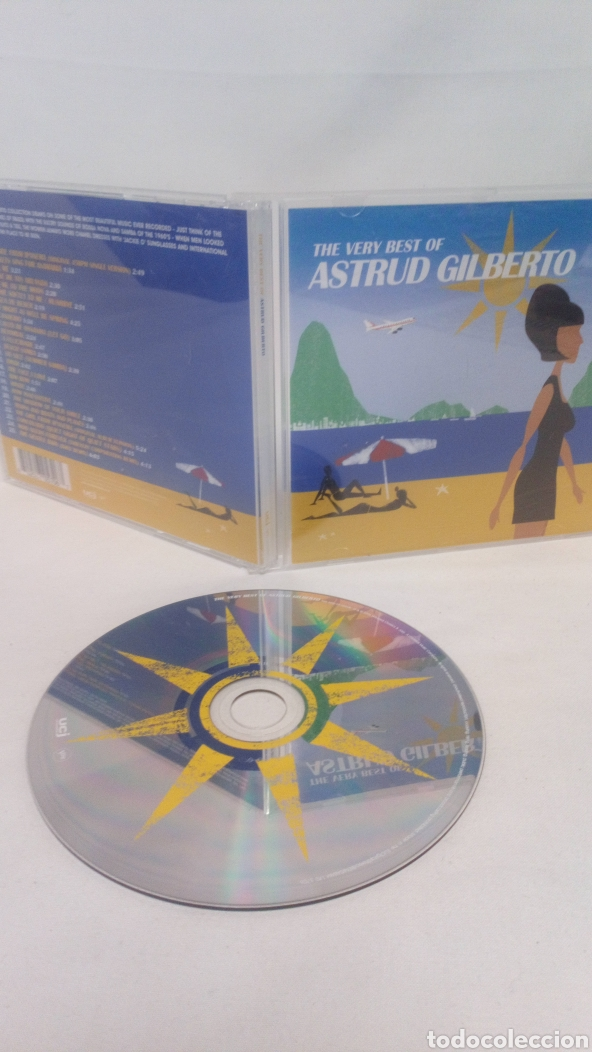 THE VERY BEST OF ASTRUD GILBERTO CD (Música - CD's World Music)
