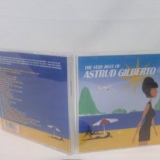 CDs de Música: THE VERY BEST OF ASTRUD GILBERTO CD. Lote 155891926