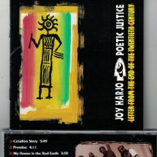 CDs de Música: JOY HARJO AND POETIC JUSTICE - LETTER FROM THE END OF THE TWENTIETH CENTURY. Lote 155896698