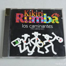 CDs de Música: KÍKIRI RUMBA LOS CAMINANTES THE WALKING MEN CD. Lote 155898694