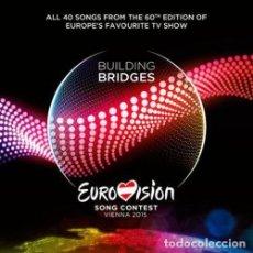 CDs de Música: EUROVISION SONG CONTEST VIENNA 2015 - BUILDING BRIDGES - 2XCD. Lote 155908402