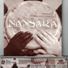 CDs de Música: NANSARA - DJEMBEFOLA-PERCUSION MALINKE (CD, SONIDO XXI 2001). Lote 155914910