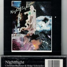 CDs de Música: CHRISTIAN BUEHNER & HELGE SCHROEDER ‎– NIGHTFLIGHT (CD, BEYOND RECORDS 1990). Lote 155916554