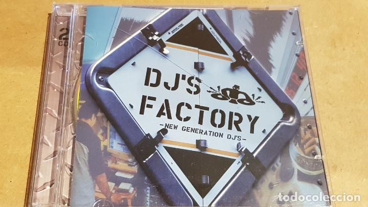 DJ'S FACTORY / NEW GENERATION DJ'S / DOBLE CD-ACTION MUSIC / 37 TEMAS / LUJO. (Música - CD's Disco y Dance)