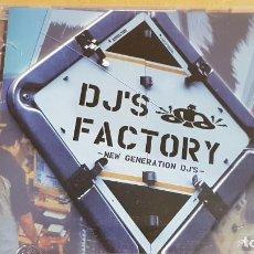 CDs de Música: DJ'S FACTORY / NEW GENERATION DJ'S / DOBLE CD-ACTION MUSIC / 37 TEMAS / LUJO.. Lote 155929194